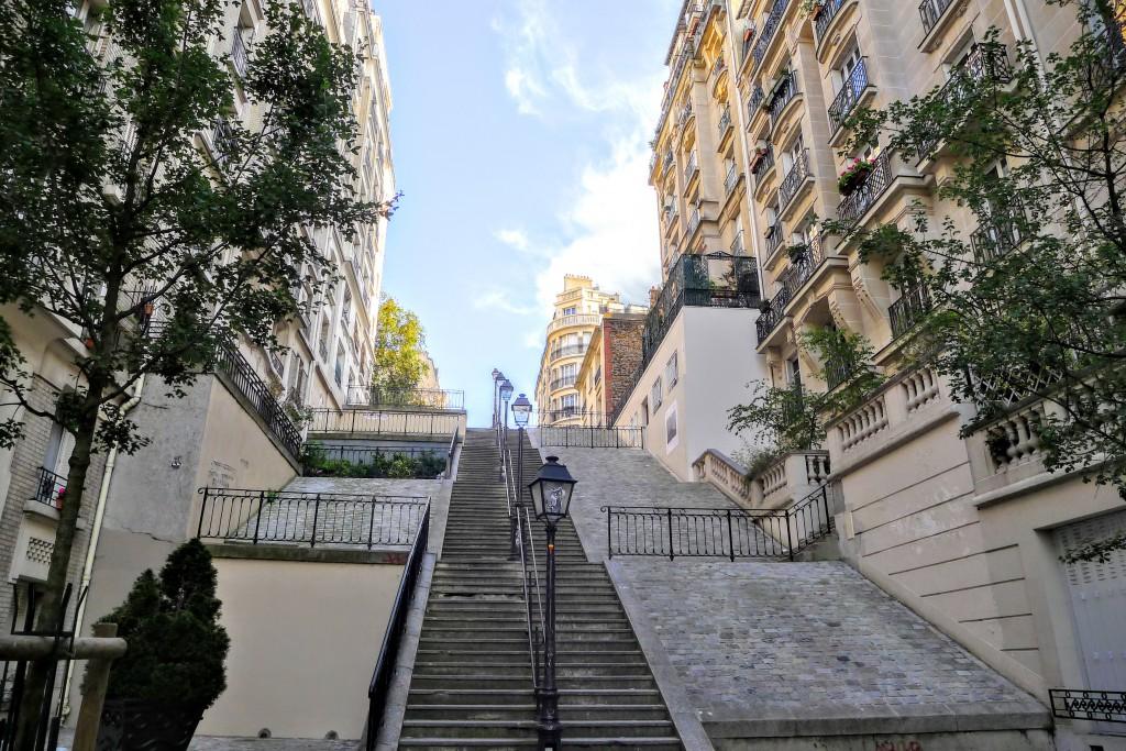 Die Umgebung von Montmartre